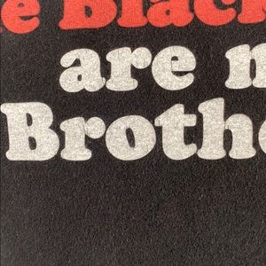 Tultex Shirts - The Black Keys Are My Brothers Black Graphic Tee